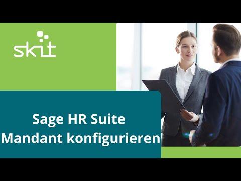 Sage HR Suite - Mandant konfigurieren