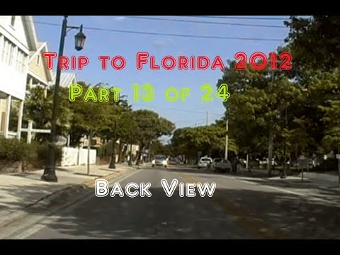 Trip to Florida 2012 | Rear View | 13 of 24 | From Marimar, FL to Key West, FL