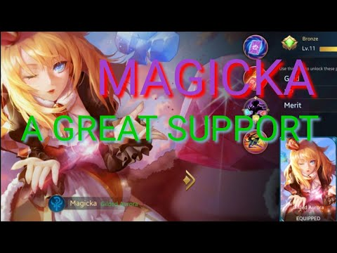 HEROES EVOLVED - MAGICKA/ GAMEPLAY / HOW TO USE / BE A GOOD SUPPORT