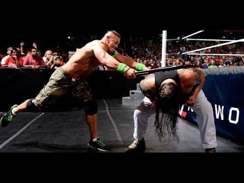 John Cena vs Bray Wyatt Last Man Standing Full Match Payback 2014 (2)