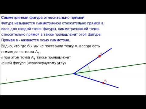 осевой с фигура картинки симметрией