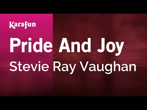 Karaoke Pride And Joy  Stevie Ray Vaughan *