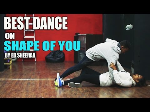 Shape Of You | Best Dance Choreography | Rockstar Dance Studios