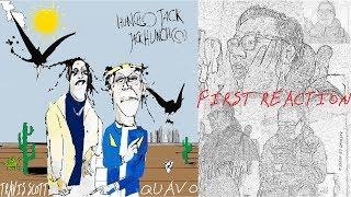 Travis Scott & Quavo - HUNCHO JACK, JACK HUNCHO // FIRST REACTION!