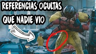 Pelicula DEADPOOL 2 Curiosidades y referencias ocultas / ESCENAS POST CREDITOS