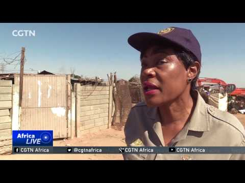 South Africa Mining: Authorities crack down on illegal mining in Johannesburg