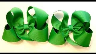 Repeat youtube video hair bow tutorial (HOW TO MAKE A TWISTED HAIR BOW) Classic Boutique Style bow