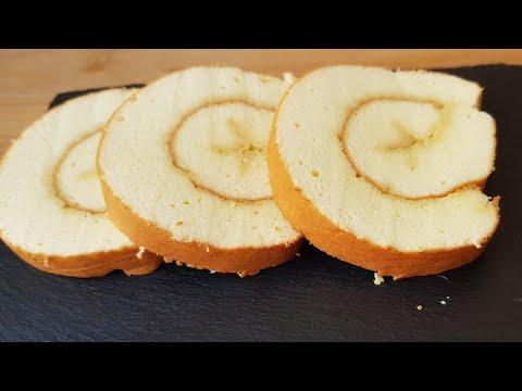 جينواز-بطريقة-احترافية-مع-كل-اسرار-نجاحها/-swiss-roll-cake-/-biscuit-roulé