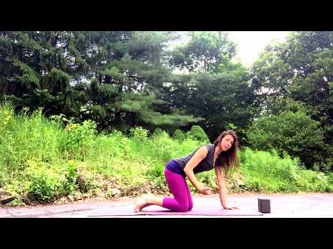 Sun Salutation A in Yoga with healthy body mechanics