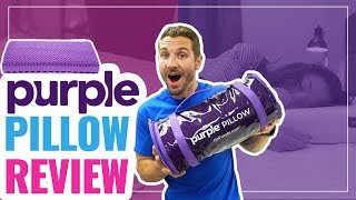 Purple Pillow Review 2019 - Better Than Memory Foam?! (UPDATED)