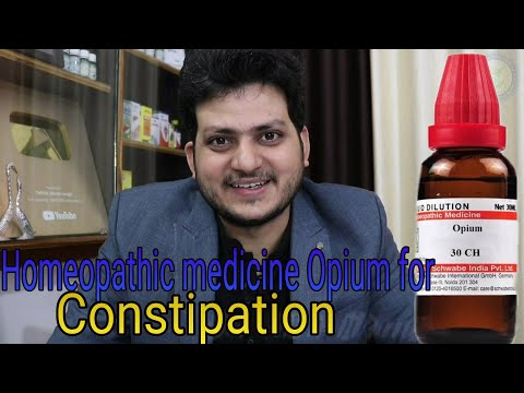 Homeopathic medicine Opium for constipation ?Dr.kirti vikram Singh LIVE CLINIC #892 3 /1/2020 |