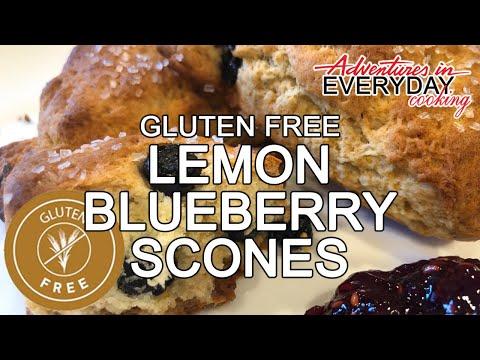 Gluten Free Lemon Blueberry Scones Adventures in Everyday Cooking