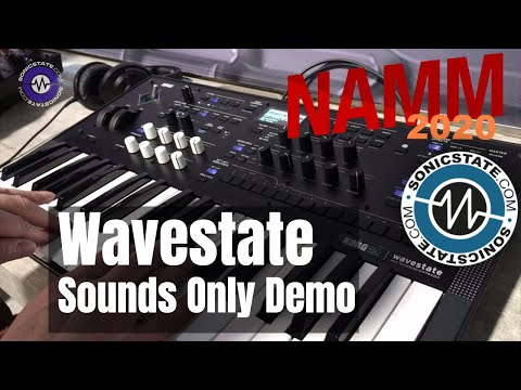 NAMM 2020: Wavestate - Sounds Only Demo