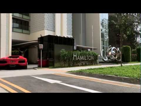 An Amazing Luxury Apartment Parking in Singapore