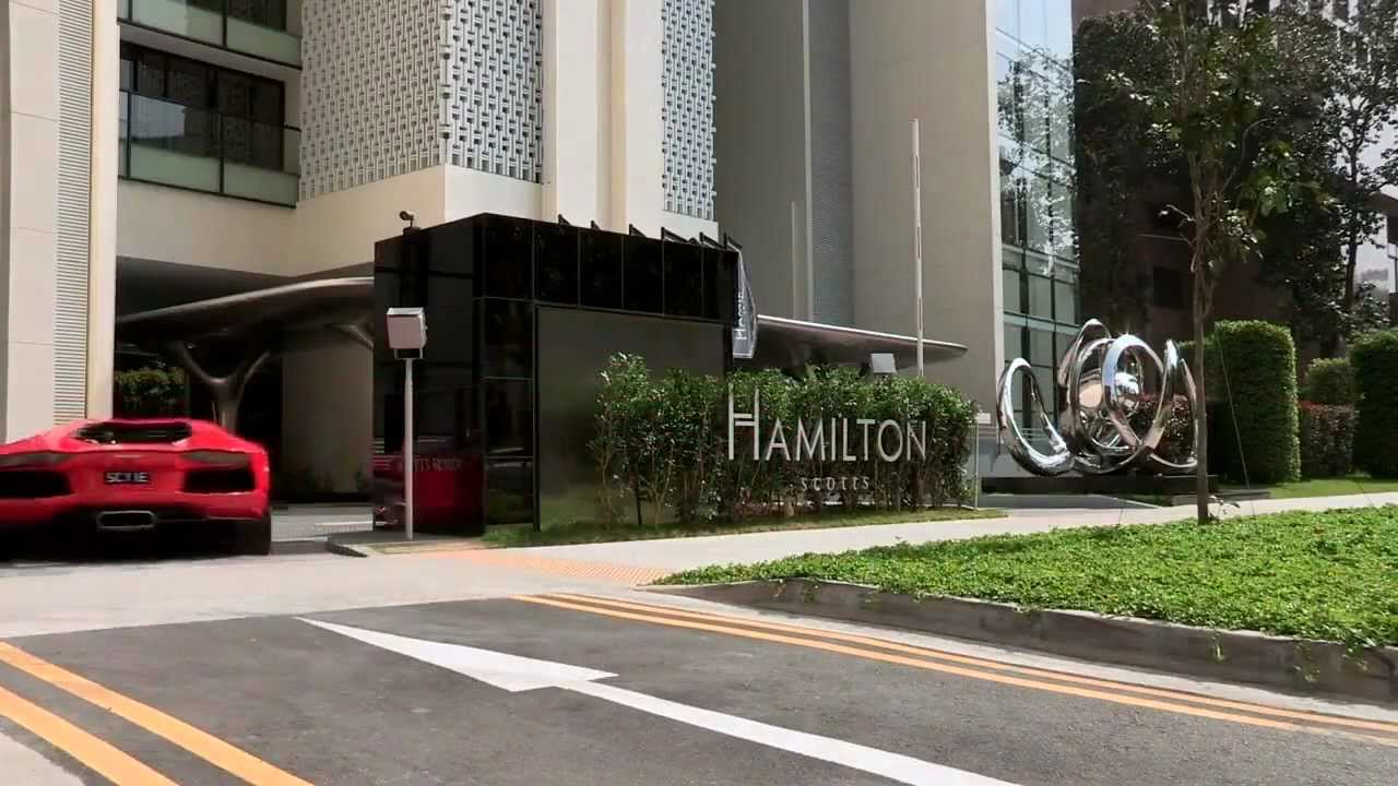 Luxury Park an amazing luxury apartment parking in singapore