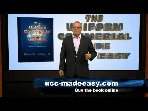 Negotiable Instruments Uniform Commercial Code