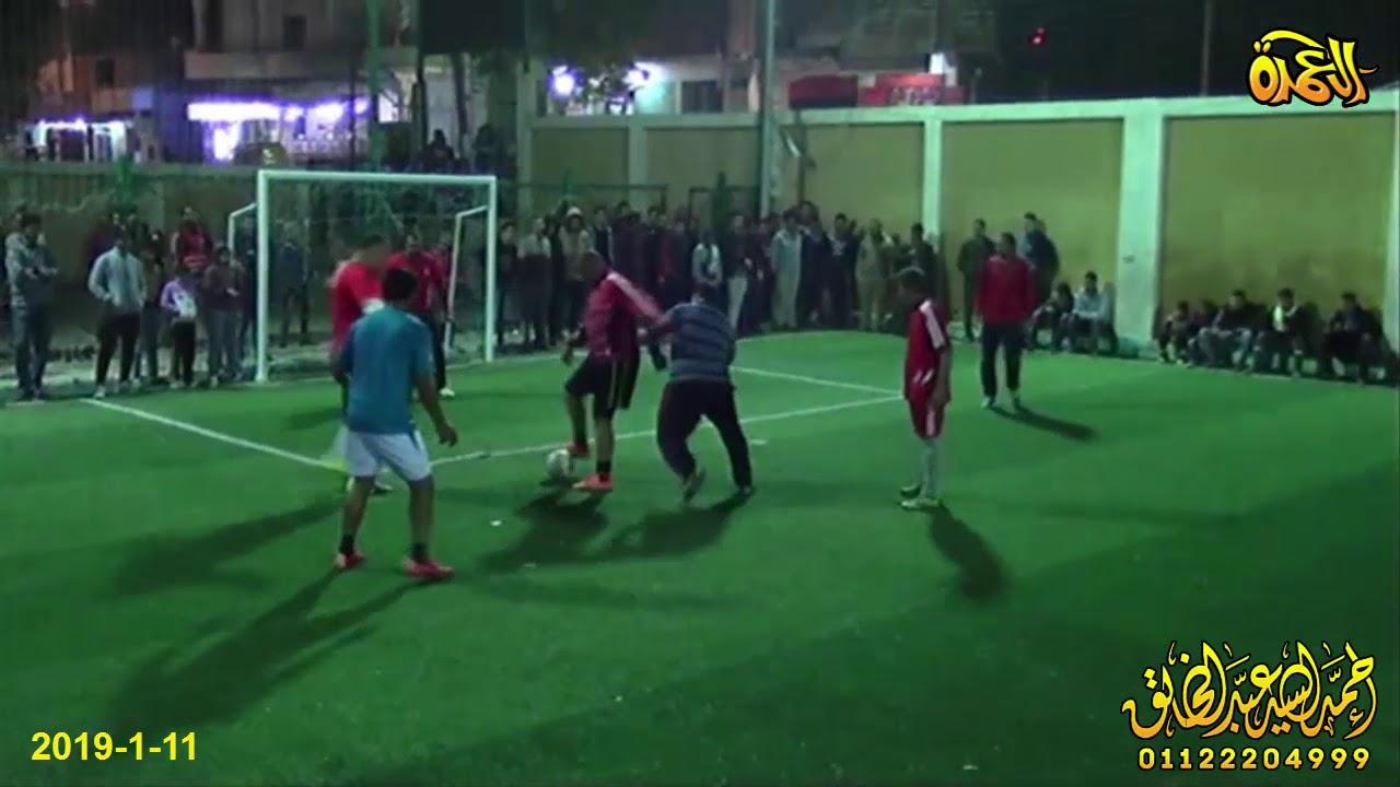 مباراة كرة القدم بين قدامى الشيخ جبيل وقدامى ابوحماد تحت رعاية ال رحال 11-1-2019