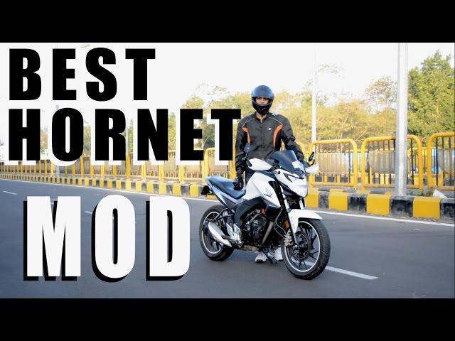 Indias best modified hornet 160R