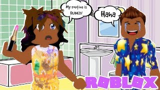 Meep City Brother vs Sister Morning Routine! (Roblox roleplay)