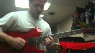 B minor shred guitar improv ideas