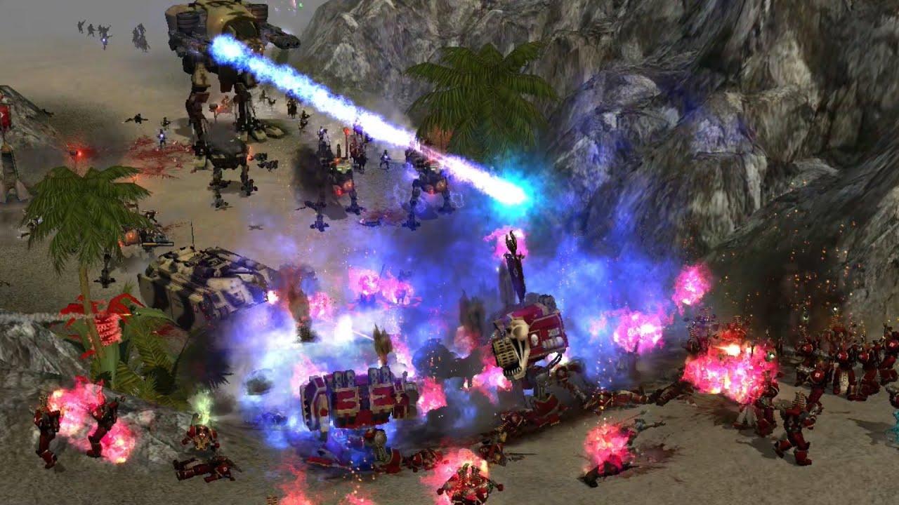 Download BLOODLINE MOD 2020: Steel Legion vs Thousand Sons! - Warhammer 40K: Dawn Of War: Soulstorm