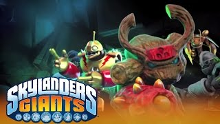 Skylanders Giants Game & Features Trailer l Skylanders Giants l Skylanders