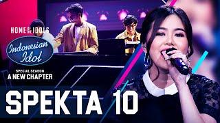 Download MELISA X WEIRD GENIUS - MATA KE HATI (HIVI!) - SPEKTA SHOW TOP 4 - Indonesian Idol 2021