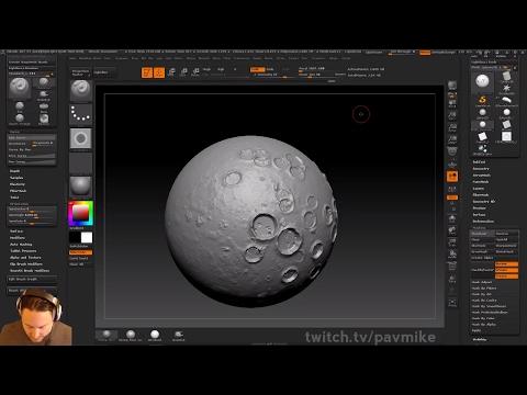PavWork11: Planetary Sculpt