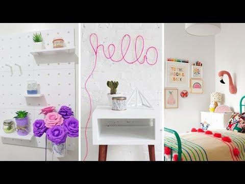 diy-room-decor!-9-diy-room-decorating-ideas,-diy-ideas-for-girls-(diy-wall-decor,-pillows,-etc.)