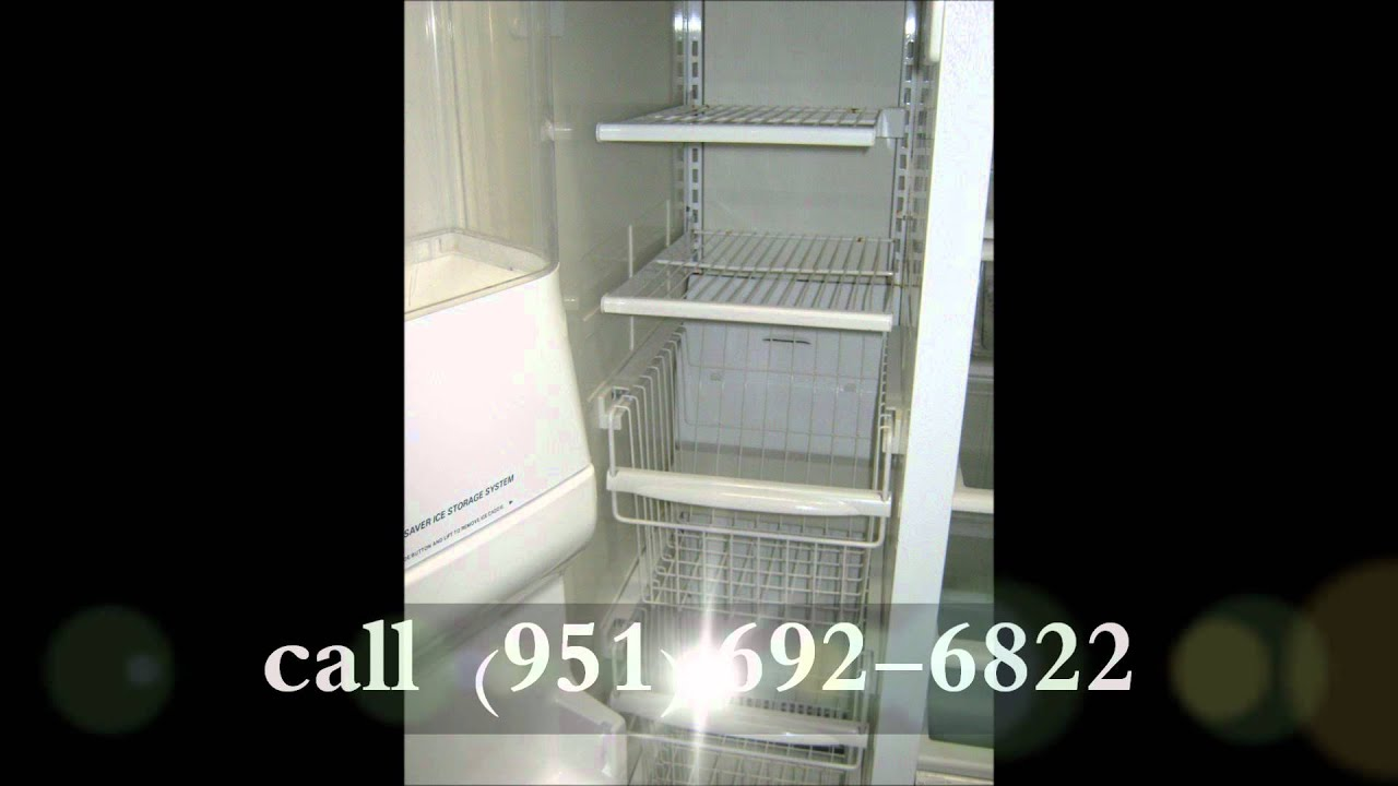 Kenmore Refrigerator Repair >> Kenmore Elite side by side Refrigerator filtered ice & water in door, ultra fresh - YouTube