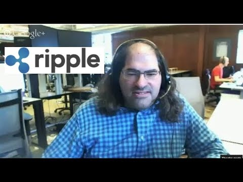 Ripple Explained with David Schwartz, Chief Cryptographer of Ripple Labs