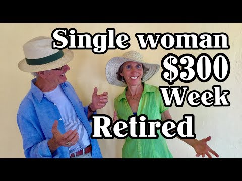 I am A SINGLE Lady And Retired In Mexico On $300 A WEEK Lake Chapala Ajijic - 동영상