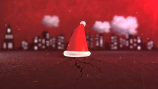 After Effects Project. Slideshow For New Year 2014 And Christmas 2014 - Christmas Hat