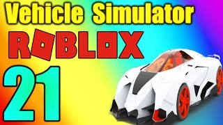 LAMBORGHINI EGOISTA (FASTEST CAR EVER) - Vehicle Simulator Ep 21 - ROBLOX