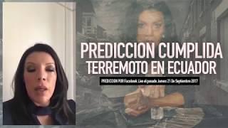 Deseret Tavares - Prediccion Cumplida - Terremoto en Ecuador
