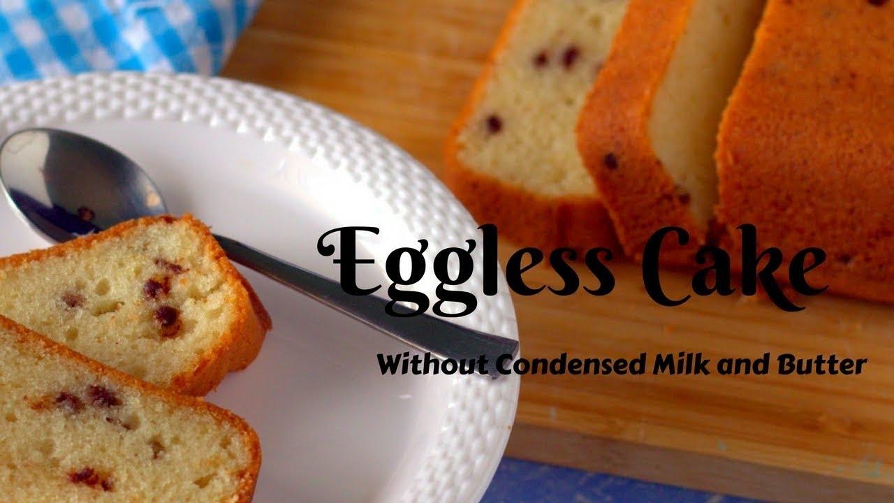 Simple Eggless Cake Recipe