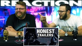 Honest Trailers - Star Wars: Episode V - The Empire Strikes Back REACTION!!