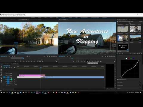 Adobe Premiere Pro Simple Title Intro Tutorial