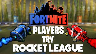We taught Fortnite players Rocket League and then made them 1v1