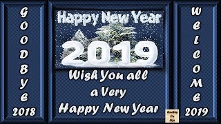Happy New Year 2019 wishes animated ecard greetings whatsapp status in advance with images