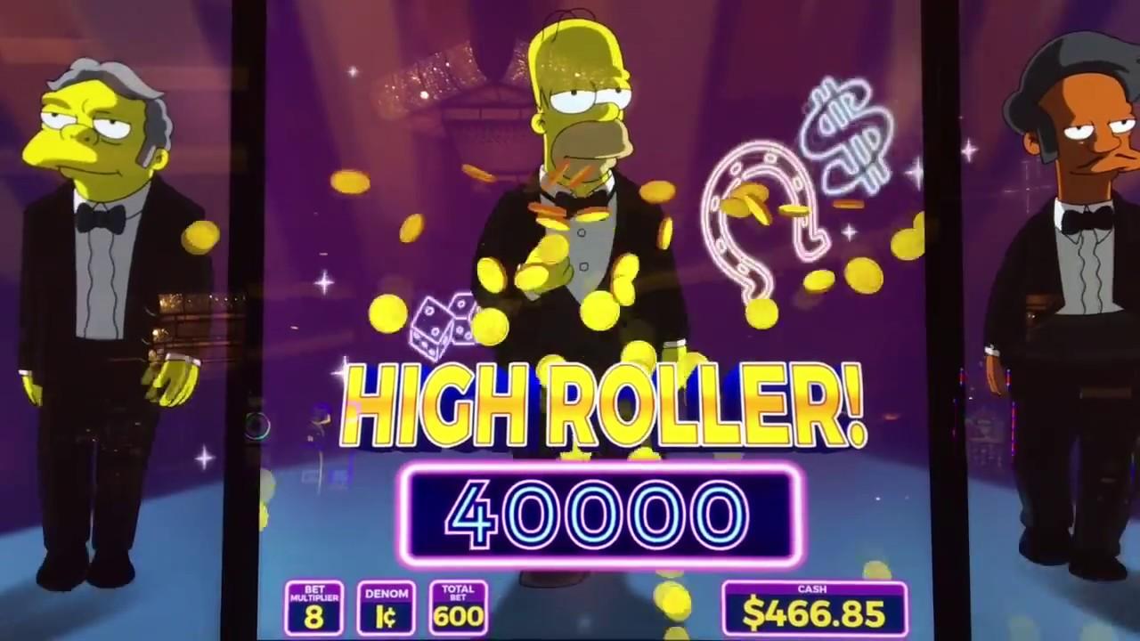 Simpsons slot machine las vegas locations casino emploi saisonnier