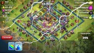 Clash of Clans 1000 Tane Deprem Büyüsünü Atarsak Ne Olur #2 ( İzle Gör )