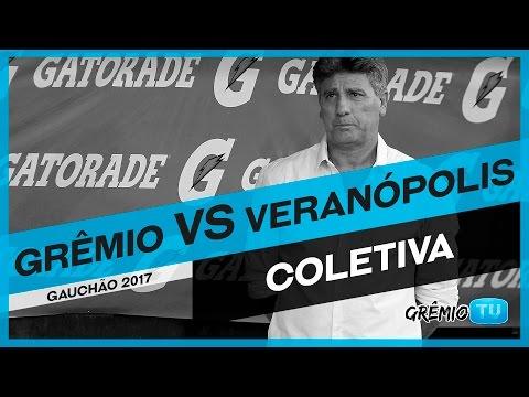 [COLETIVA] Pós-Jogo Grêmio x Veranópolis (Campeonato Gaúcho 2017) l GrêmioTV