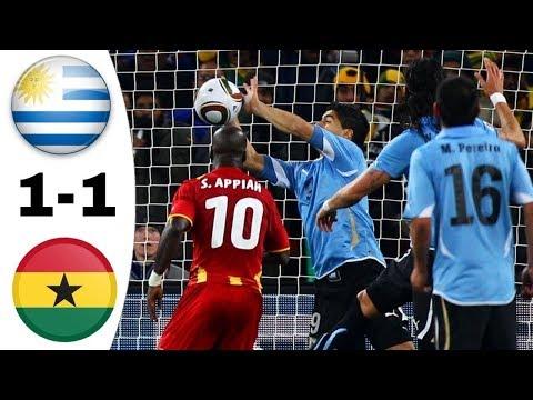 Crazy match / Uruguay ~ Ghana 1-1 (4-2) Quarterfinals World Cup 2010 Comment HD 720P