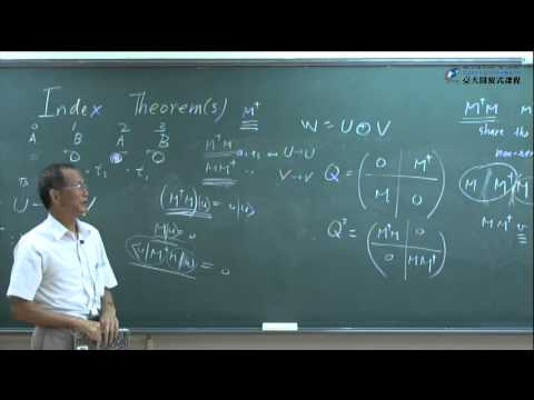 Lecture 15. Index Theorem(s)