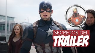 Secretos del Trailer - Captain America: Civil War