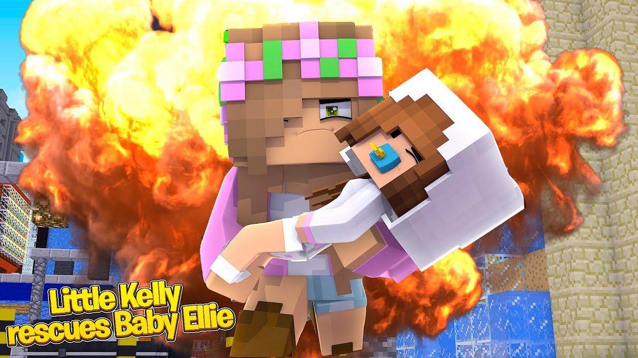 little-kelly-rescues-baby-ellie-minecraft-little-kelly