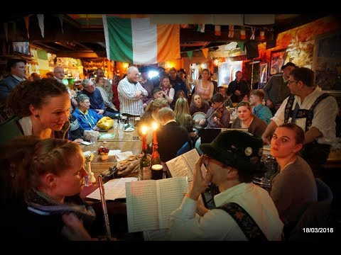 Dolan's Pub - Culture evening - German band playing along with Irish traditional music