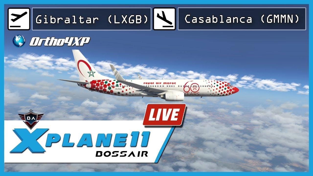 X-Plane 11 | Alicante (LEAL) - Gibraltar (LXGB) | FlightFactor A320 + BSS  Soundpack Update V1 4