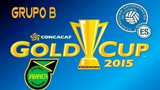 Jamaica vs El Salvador | simulacion | Grupo B | Copa Oro 2015